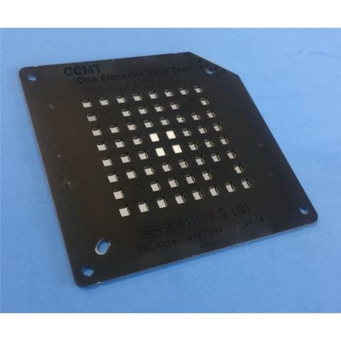 ハレーション防止表面処理を施したCCMT<